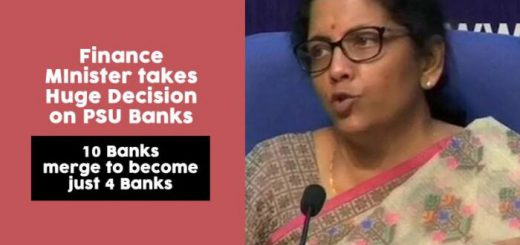 bank merger announcement, public sector bank merger, nirmala sitharaman, finance ministry,